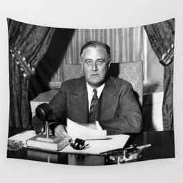 President Franklin Roosevelt Wall Tapestry