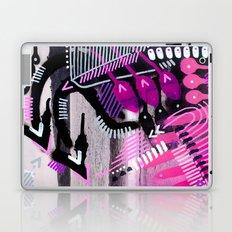 Wave black Laptop & iPad Skin