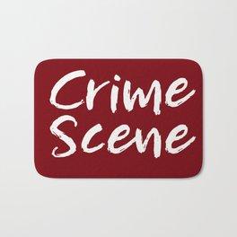 Crime Scene - Red Bath Mat