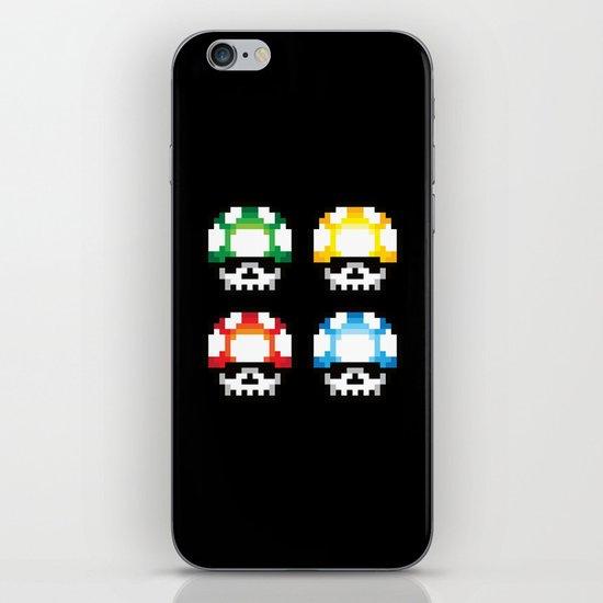 Skull Mushroom iPhone & iPod Skin