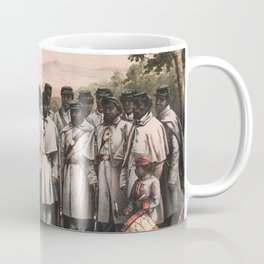 African American Soldiers - Civil War - 1864 Coffee Mug