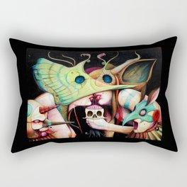 Gods & Buffoons || Cupid || Eye || Butterfly Rectangular Pillow