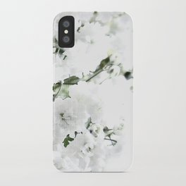 Touch of White. iPhone Case