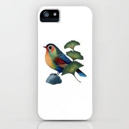 Ginkgo Bird iPhone Case