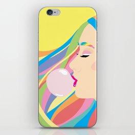 Bubble gum iPhone Skin