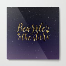 Rewrite the Stars - The Greatest Showman Metal Print