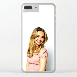 Hayden Panettiere - Celebrity Art Clear iPhone Case