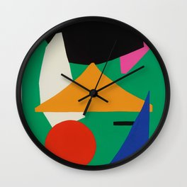 'Tropics vibe' Wall Clock