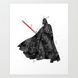 Darth Vader Star . Wars Art Print