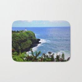 Kilauea Point Lighthouse Kauai by Reay of Light Bath Mat