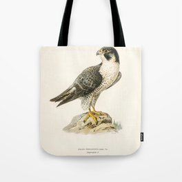Peregrine Falcon (Falco peregrinus) illustrated by the von Wright brothers Tote Bag