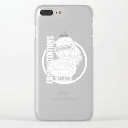 Kawaii Anime Manga Babe Girl Cosplay gifts Clear iPhone Case