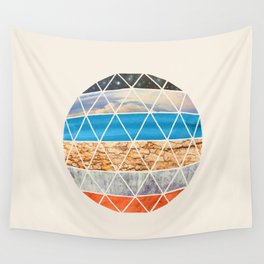 Eco Geodesic  Wall Tapestry