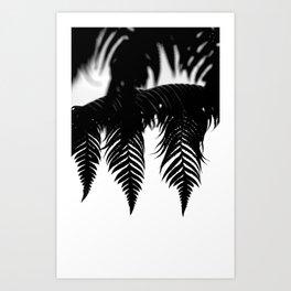Tropical Fern Art Print