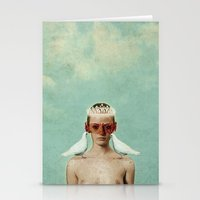 serenity Stationery Cards featuring Serenity by Seamless