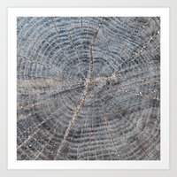 wood Art Prints featuring wood by Artemio Studio