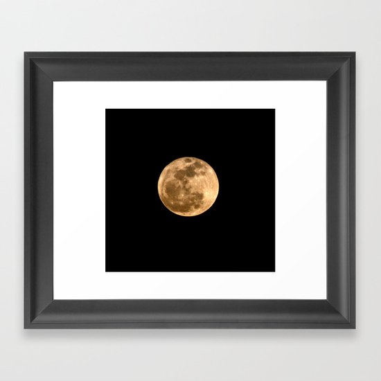 La Luna 3 Framed Art Print