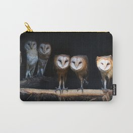 Owls the family Carry-All Pouch
