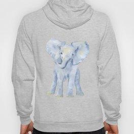 Baby Elephant Watercolor Hoody
