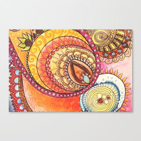 Sweet Inside Canvas Print