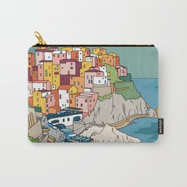 Cinque Terre Italy Colourful Houses by Day Carry-All Pouch