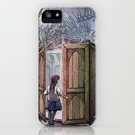 Lucy's Discovery iPhone Case