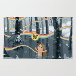 I Follow Rainbows Rug