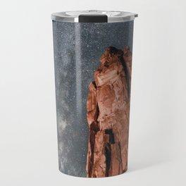Milky Way Arches National Park Travel Mug