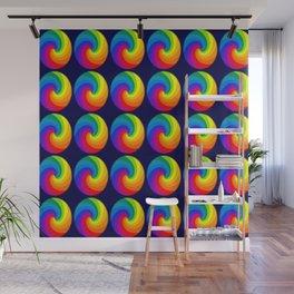 Spectrum colors Wall Mural