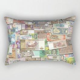 Foreign Exchange by John Logan Rectangular Pillow