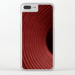 Red Hot Sounds Clear iPhone Case