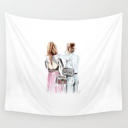 Street style girls Wall Tapestry