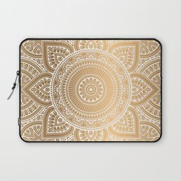 Gold Mandala 3 Laptop Sleeve