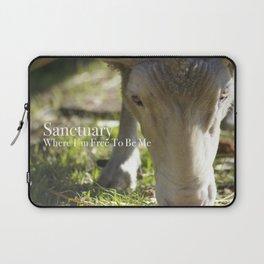 Mary @ Happy Hooves Farm Sanctuary Laptop Sleeve