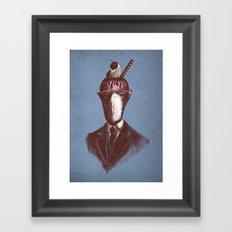 Sundae Best Framed Art Print