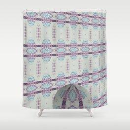 Hawaiian Diamond Header WallBall1 Shower Curtain