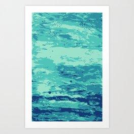 Plats Art Print