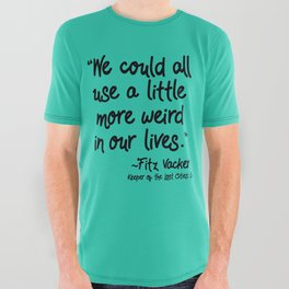 Fan-favorite Fitz Quote All Over Graphic Tee