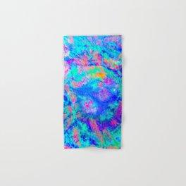 ELECTRIC SKY, design 1 in portrait Hand & Bath Towel