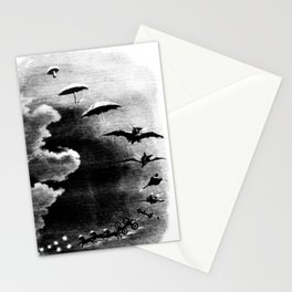 Promenade through the Sky - Grandville Stationery Cards
