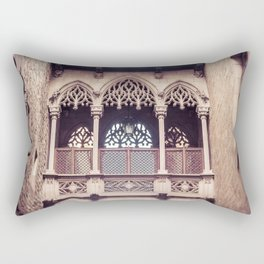 Carrer Del Bisbe Rectangular Pillow