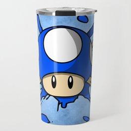 Mini Mushroom Crossbones Travel Mug