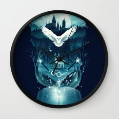 Book of Fantasy Wall Clock