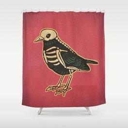 Dead Bird Shower Curtain