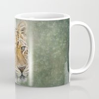 leopard Mugs featuring Leopard by Pauline Fowler ( Polly470 )