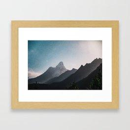 Nepal Series | Ama Dablam, Himalayas Framed Art Print