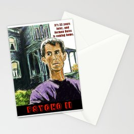 Psycho II Stationery Cards
