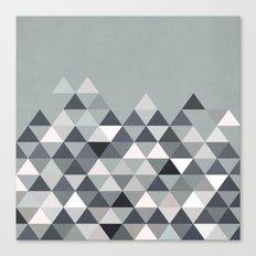 Nordic Combination 25 Canvas Print
