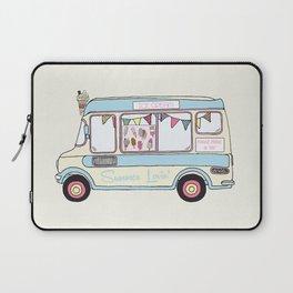 Summer Lovin' Ice Cream Van Laptop Sleeve