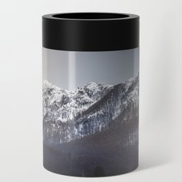 Snowy Mountain Range Can Cooler